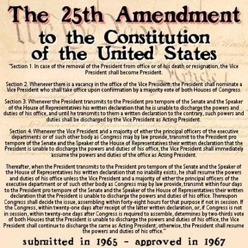 Is it time to initiate the 25th Amendment?