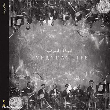 "Coldplay's new album ""Everyday Life"""